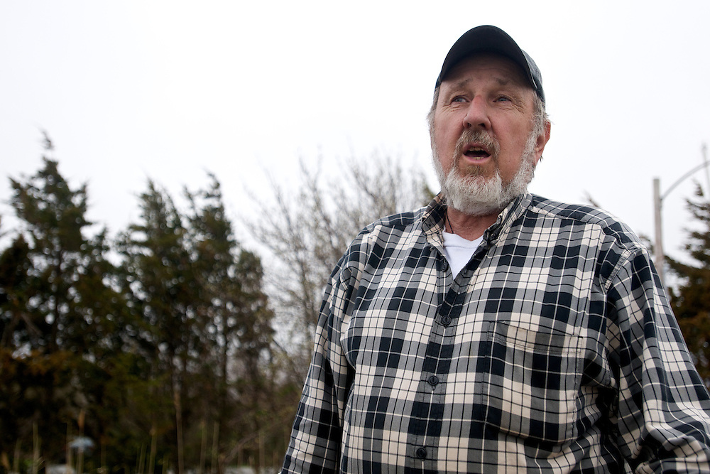 April 27, 2011 - Dave Casoni, a lobsterman in Massachusetts.