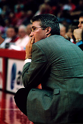November 16, 2001:  Illinois State Redbirds basketball coach Tom Richardson..This image was scanned from a print.  Image quality may vary.  Dust and other unwanted artifacts may exist.