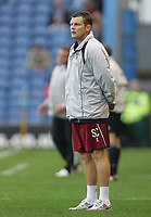 Photo: Paul Thomas.<br /> Burnley v Cardiff. Coca Cola Championship.<br /> 10/09/2005.<br /> <br /> Burnley manager Steve Cotterill.