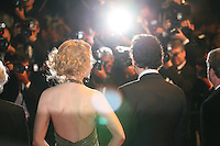 Actress Nicole Kidman and actor Clive Owen being photographed by the press photographers at the Heminway & Gellhorn gala screening at the 65th Cannes Film Festival France. Friday 25th May 2012 in Cannes Film Festival, France.