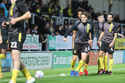 Burton Albion forward Oliver Sarkic (17) warms up during the EFL Cup match between Burton Albion and Bournemouth at the Pirelli Stadium, Burton upon Trent, England on 25 September 2019.
