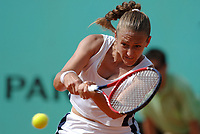 Tennis<br /> Foto: Dppi/Digitalsport<br /> NORWAY ONLY<br /> <br /> TENNIS - ROLAND GARROS 2005 - PARIS (FRA) - 02/06/2005 <br /> <br /> MARIE PIERCE (FRA)