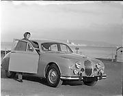 26/11/1957.11/26/1957.26 November 1957.Jaguar car, special for Fleet (Creation).