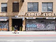 A warehouse on Washington street