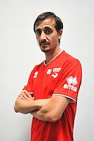 Fethi HAREK - 16.09.2014 - Photo officielle Nimes - Ligue 2 2014/2015<br /> Photo : Icon Sport