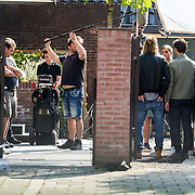 NLD/Amsterdam/20160908 - Opname nieuwe misdaadserie Odds,