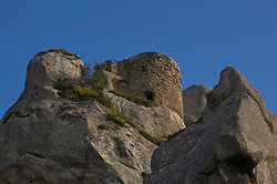 Pietrapertosa, Basilicata, Italy - The castle