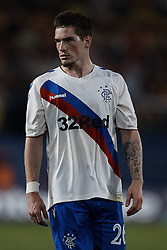 September 20, 2018 - Vila-Real, Castellon, Spain - Ryan Kent of Rangers looks on during the UEFA Europa League group G match between Villarreal CF and Rangers at Estadio de la Ceramica on September 20, 2018 in Vila-real, Spain  (Credit Image: © David Aliaga/NurPhoto/ZUMA Press)