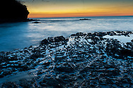 Lava Outcropping Sunset