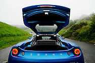Lotus Evora for Scotsman Motoring.photographed at the entrance to the Innocent Railway near Holyrood Park in Edinburgh.24/06/2011..Alex Hewitt.07789 871 540.alex.hewitt @ gmail.com..