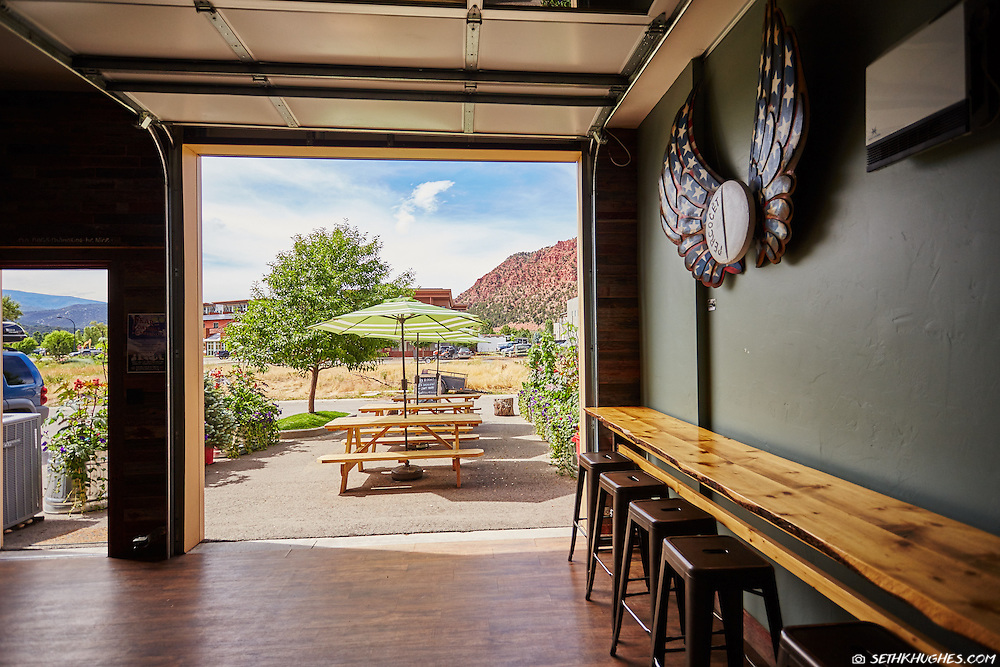 Roaring Fork Beer Company in Carbondale, Colorado.