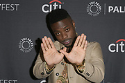 """JOHNELL YOUNG attends the Hulu Presentation of """"Wu-Tang: An American Saga"""" at the 2019 PaleyFest Fall TV Previews at the Paley Center for Media in Beverly Hills, California."""