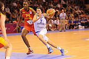 Vannes 16 Giugno 2013 <br /> Eurobasket Women 2013<br /> Italia - Spagna <br /> Nella foto: giorgia sottana<br /> Foto Ciamillo