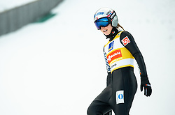 Maren Lundby of Norway during 2nd Round at Day 1 of World Cup Ski Jumping Ladies Ljubno 2019, on February 8, 2019 in Ljubno ob Savinji, Slovenia. Photo by Matic Ritonja / Sportida
