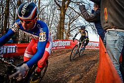 VAN DER HAAR Lars (NED) during the Men Elite race, UCI Cyclo-cross World Cup #8 at Hoogerheide, Noord-Brabant, The Netherlands, 22 January 2017. Photo by Pim Nijland / PelotonPhotos.com | All photos usage must carry mandatory copyright credit (Peloton Photos | Pim Nijland)