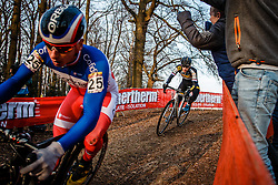 VAN DER HAAR Lars (NED) during the Men Elite race, UCI Cyclo-cross World Cup #8 at Hoogerheide, Noord-Brabant, The Netherlands, 22 January 2017. Photo by Pim Nijland / PelotonPhotos.com | All photos usage must carry mandatory copyright credit (Peloton Photos | Pim Nijland)