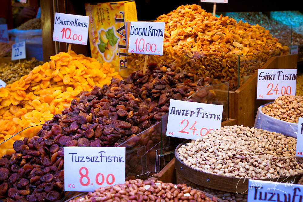 Dried Fruit at teh Spice Bazaar