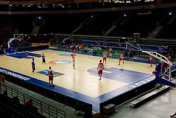 Team of Georgia during practice in Arena Svyturio in Klaipeda at Eurobasket Lithuania 2011, on August 29, 2011, in Lithuania. (Photo by Vid Ponikvar / Sportida)