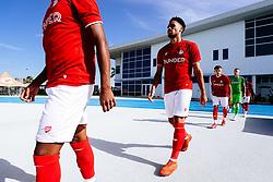 Zak Vyner of Bristol City during the 2nd leg of the match after the previous day's game was abandoned at half time due to extreme weather - Rogan/JMP - 14/07/2019 - IMG Academy, Bradenton - Florida, USA - Bristol City v Derby County - Pre-Season Tour Day 3.