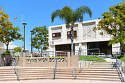 Irvine High School Front Entrance