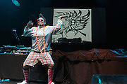 September 22, 2012- Los Angeles, CA:  Recording Artist Medusa performs at the Lyricist Lounge 20th Year Reunion Party-Los Angeles held at Club Nokia at LA Live on September 22, 2012 in Los Angeles, California. The Lyricist Lounge is a hip hop showcase of rappers, emcees, DJ's, and Graffiti artists. It was founded in 1991 by hip hop aficionados Danny Castro and Anthony Marshall. It was a series of open mic events hosted in a small studio apartment in the Lower East Side section of New York City.(Terrence Jennings)