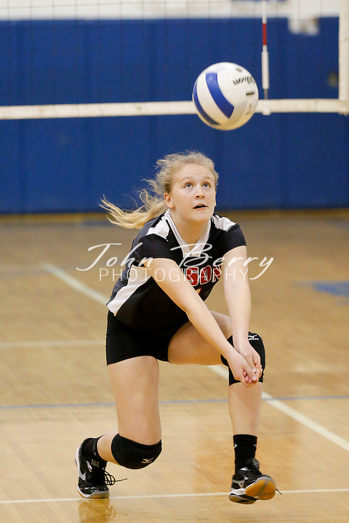 October 23, 2014.  <br /> MCHS JV Volleyball vs George Mason.  Madison wins 2-0.
