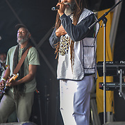 London, UK. 21th July, 2019. The Twinkle Brothers perfroms at the Lambeth Country Show 2019 a family festival with live music food & drinks, Arts and Culture and animal show at Brockwell Park, London.