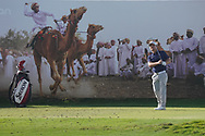 Soren Kjeldsen (DEN) on the 8th during Round 2 of the Oman Open 2020 at the Al Mouj Golf Club, Muscat, Oman . 28/02/2020<br /> Picture: Golffile   Thos Caffrey<br /> <br /> <br /> All photo usage must carry mandatory copyright credit (© Golffile   Thos Caffrey)
