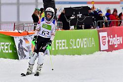 FARKASOVA Henrieta Guide: SUBRTOVA Natalia, B3, SVK, Women's Slalom at the WPAS_2019 Alpine Skiing World Championships, Kranjska Gora, Slovenia