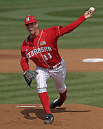 Nebraska starting pitcher Tony Watson pitched 7 1/3 innings and got the win against the Wildcats.  Nebraska held on to beat Kansas State 5-4 at Tointon Stadium in Manhattan, Kansas, April 1, 2006.