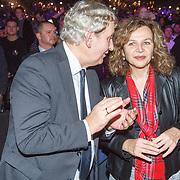 NLD/Amsterdam/20151204 - Freefightgala Glory26, burgemeester Eberhard van der Laan en minister Edith Schippers