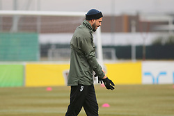 March 6, 2018 - Vinovo, Piedmont, Italy - Stefano Sturaro (Juventus FC) during the training on the eve of the second leg of the Round 16 of the UEFA Champions League 2017/18 between Juventus FC and Tottenham Hotspur FC at Juventus Training Center on 06 March, 2018 in Vinovo (Turin), Italy. (Credit Image: © Massimiliano Ferraro/NurPhoto via ZUMA Press)