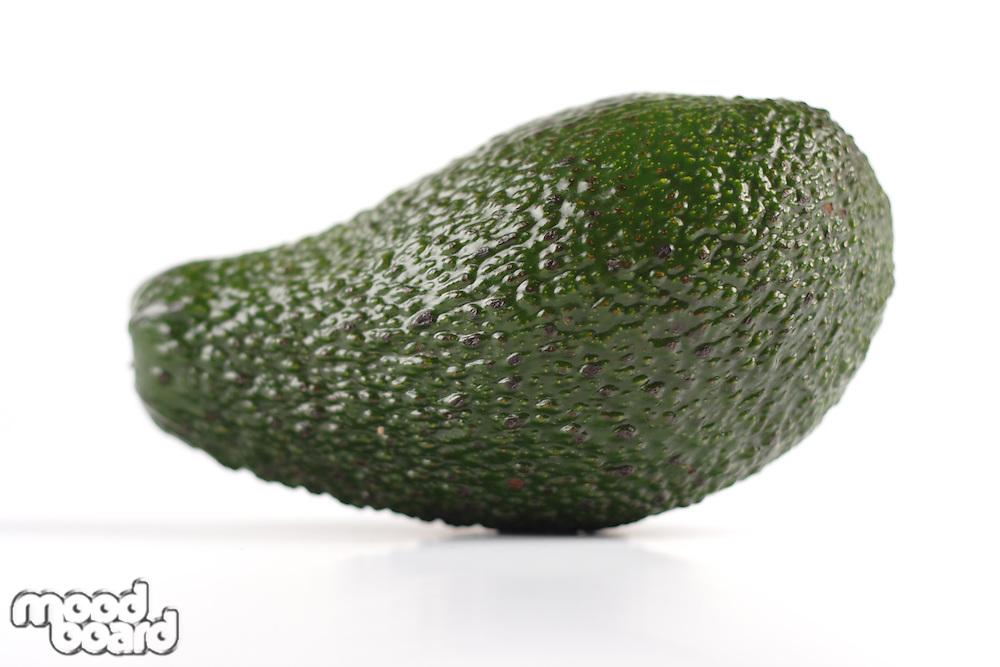 Avocado on white background - studio shot