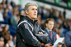 Manager Alan Irvine of West Brom looks on before kick off - Photo mandatory by-line: Rogan Thomson/JMP - 07966 386802 - 26/08/2014 - SPORT - FOOTBALL - The Hawthorns, West Bromwich - West Bromwich Albion v Oxford United - Capital One Cup Round 2.