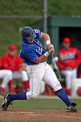15 February 2007: Brett Siegmund.  Indiana State Sycamores gave up the first game of the double-header by a score of 16-6 to the Illinois State Redbirds at Redbird Field on the campus of Illinois State University in Normal Illinois.
