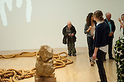 GUSTAV METZGER : Early works 1965-1982. Tate Britain. 26 September 2011. <br /> <br />  , -DO NOT ARCHIVE-© Copyright Photograph by Dafydd Jones. 248 Clapham Rd. London SW9 0PZ. Tel 0207 820 0771. www.dafjones.com.