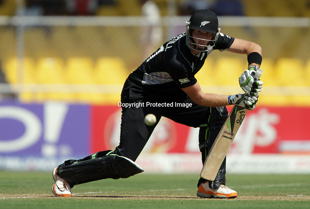 Martin Guptill. ICC Cricket World Cup 2011. New Zealand Black Caps v Zimbabwe. Sardar Patel Stadium. March 4, 2011. Ahmedabad, India. Photo: photosport.co.nz