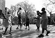 "Thursday April 24th 2008..New York, New York. United States..At ""The Cage"", the West 4th Street Basketball Court..Greenwich Village. .6th Avenue between West 3rd and West 4th Streets."