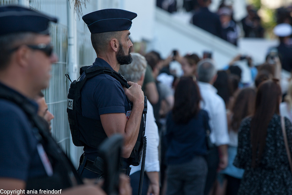 Cannes 70 Film Festival, France, 2017, french police, security,