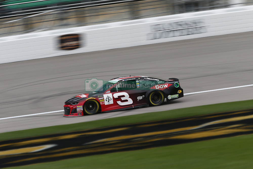 October 19, 2018 - Kansas City, Kansas, United States of America - Austin Dillon (3) hangs out in the garage during practice for the Hollywood Casino 400 at Kansas Speedway in Kansas City, Kansas. (Credit Image: © Justin R. Noe Asp Inc/ASP via ZUMA Wire)