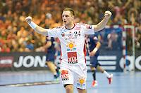 Gasper Marguc  - 12.04.2015 - Paris Handball / Vezprem - Champions League<br />Photo :  Andre Ferreira  / Icon Sport
