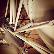 Gary Cosby Jr.  iPhone photographs<br /> Inside the radar dome of the Hytop Nexrad.