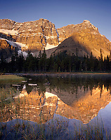 Crowfoot Mountain Banff National Park Alberta Canada
