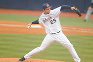 Ole Miss' Sam Smith (29) pitches vs. UT-Martin at Oxford-University Stadium in Oxford, Miss. on Wednesday, February 20, 2013. Ole Miss won 15-2 to improve to 4-0.Smith (1-0) picked up the win in his first outing of the season, working 3.0 scoreless innings and allowing one hit with one walk and three strikeouts.