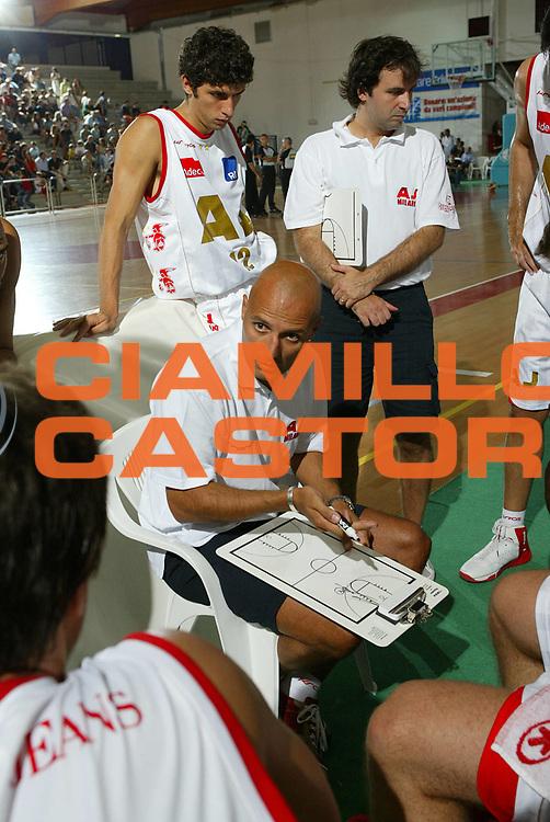 DESCRIZIONE : San Vito al Tagliamento Precampionato Lega A1 2006-07 Armani Jeans Milano Snaidero Udine a<br /> GIOCATORE : Djordjevic <br /> SQUADRA : Armani Jeans Milano <br /> EVENTO : Precampionato Lega A1 2006-2007 Memorial Boz <br /> GARA : Armani Jeans Milano Snaidero Udine <br /> DATA : 08/09/2006 <br /> CATEGORIA : Timeout <br /> SPORT : Pallacanestro <br /> AUTORE : Agenzia Ciamillo-Castoria/S.Silvestri