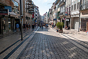 Rua de Santa Catarina, a busy commercial and pedestrian street in Porto, Portugal