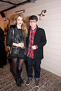 SAI BURNETT; CRAIG ROBERTS; , InStyle Best Of British Talent , Shoreditch House, Ebor Street, London, E1 6AW, 26 January 2011