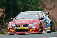 #55 Jeff Smith GBR Eurotech Racing Honda Civic Type R  during first practice for the BTCC Oulton Park 4th-5th June 2016 at Oulton Park, Little Budworth, Cheshire, United Kingdom. June 04 2016. World Copyright Peter Taylor/PSP.