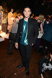 Gymnast LOUIS SMITH silver medal winner at London 2012 Olympics at the the London Collections: Men 2013 Ben Sherman and Shortlist Magazine party at Sketch, Conduit Street, London on 18th June 2013.