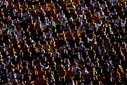 Wolverhampton Wanderers fans watch their side take on Burnley - Mandatory by-line: Robbie Stephenson/JMP - 25/08/2019 - FOOTBALL - Molineux - Wolverhampton, England - Wolverhampton Wanderers v Burnley - Premier League